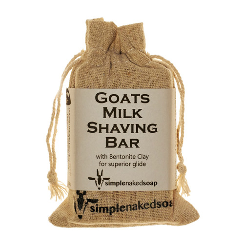 Goats Milk Shaving Bar - Bentonite Clay