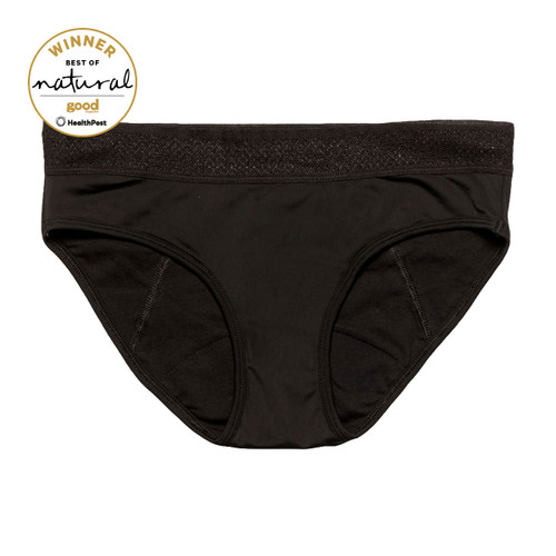 Eva Brief - Ebony (Black)