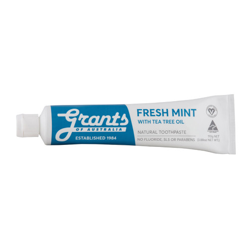 Fresh Mint with Tea Tree Natural Toothpaste