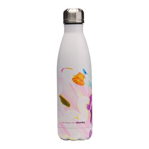 Breathe In Breathe Out Stainless Steel Water Bottle - Jen Sievers