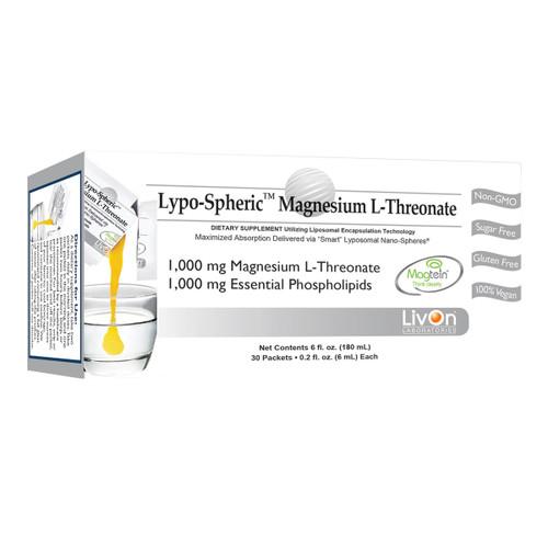 Lypo-Spheric Magnesium L-Threonate