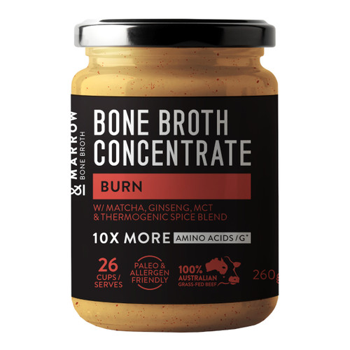 Bone Marrow Broth Burn