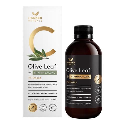 Be Well Vitamin C + Olive Leaf