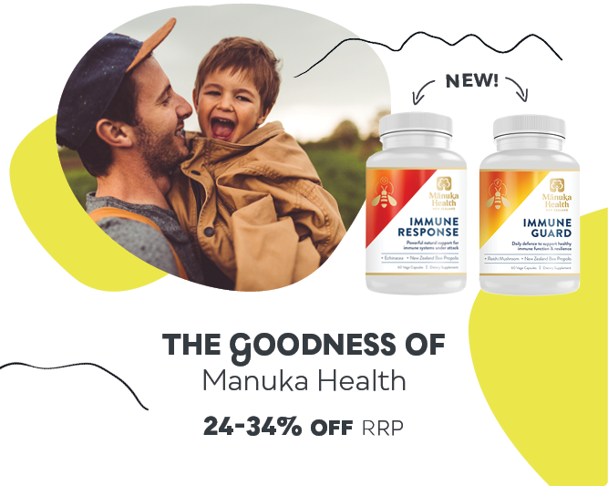 Manuka Health Sale - Save 24-34% off RRP