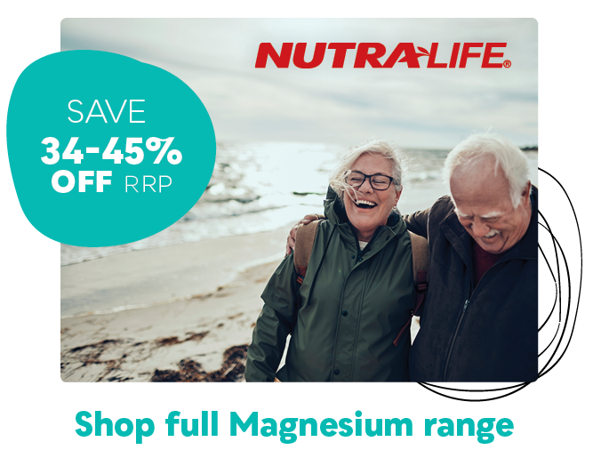 Nutra-Life Magnesium Sale - Save 34-45% off RRP
