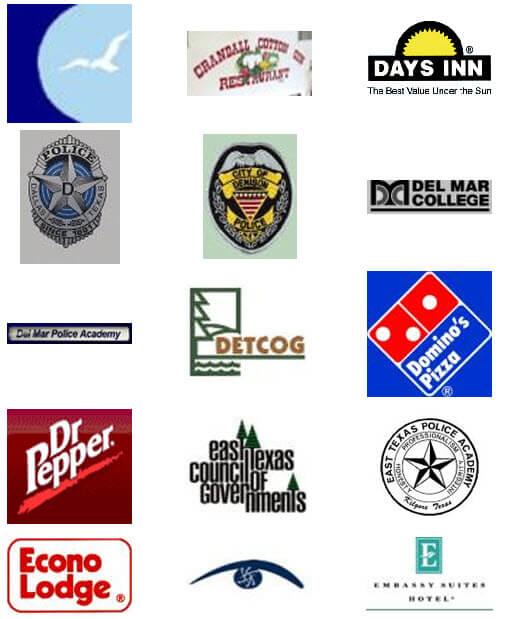 Days Inn, Domino's Pizza, Dr. Pepper