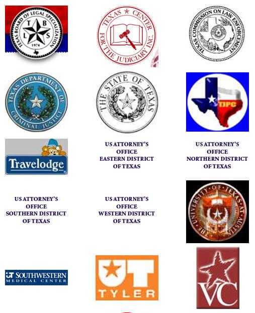 Travelodge, UT Tyler, The University of Texas Austin, US Attorney's Office