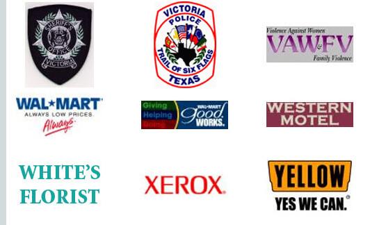 Walmart, Violence Against Women, Xerox, Western Motel, White's Florist