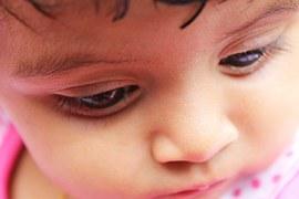 Washington_baby girl_sad_not happy_wants love