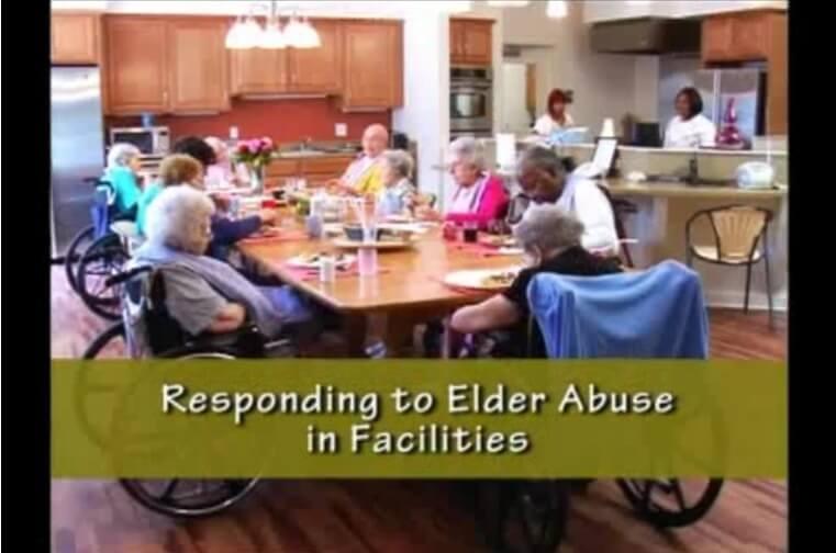 responding to elder abuse