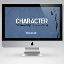 Character Bible Study Teaching Materials