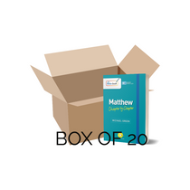 Matthew: Chapter by Chapter (Box of 20)