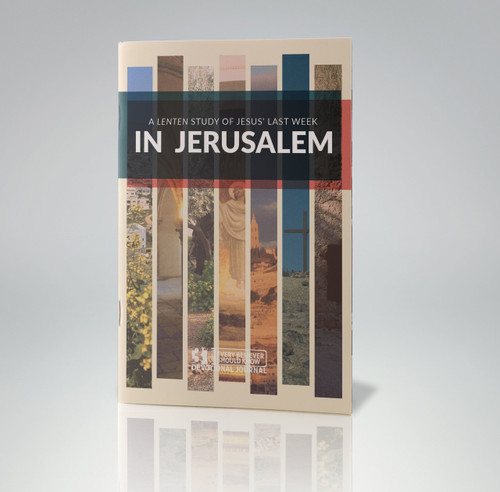 In Jerusalem Devotional Book (Special Order Product. Orders must be placed no later than February 20, 2019 to arrive for use during the Lenten season)