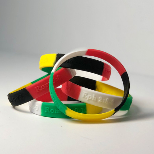 TTR Wristband and Verse Card - Native American Edition