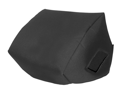 """Seismic Audio FL-12MP-PW Premium Powered 2-Way 12"""" PA Floor Monitor Padded Cover"""