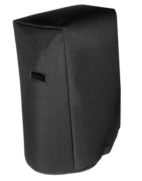 "Kustom 2x15 Tuck & Roll Cabinet - 24"" W x 36"" T x 12"" D (top) / 14"" D (bottom) Padded Cover"