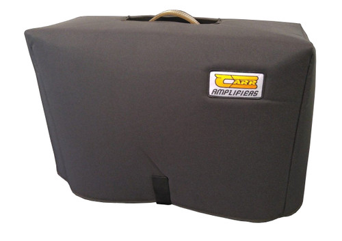 """Carr Slant 6V 1x12 Combo Amp - 24 1/4"""" w x 18 1/2"""" h x 8 7/8"""" (top)/ 10"""" (bottom) d Padded Cover"""