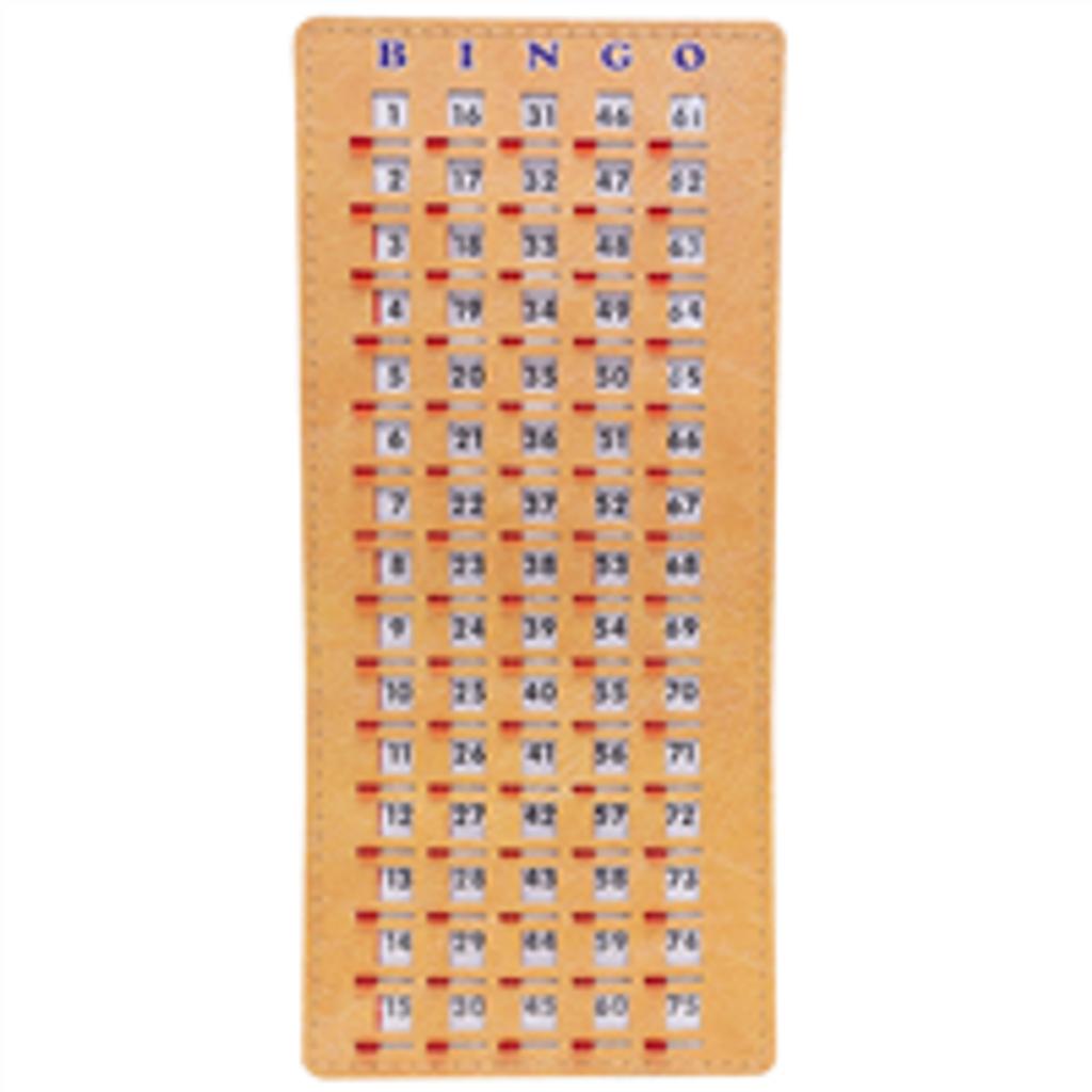 Finger Tip Bingo Masterboard - Stitched - Bingo Equipment - SKU B008240