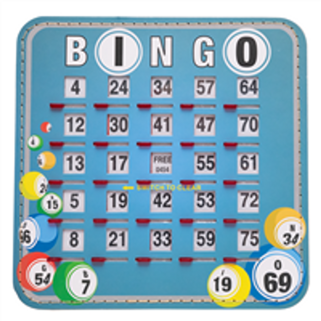Bingo Ball Shutter Cards, 10pk