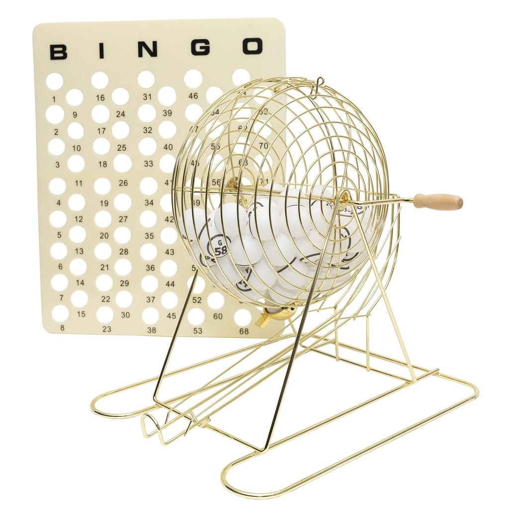 Bingo Cage, Balls and Masterbo