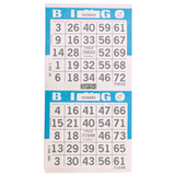 2on V Blue Bingo Cards, 750 sh