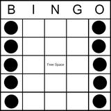 Bingo Game Pattern - Band or Railroad