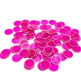 Magnetic Bingo Chips - Purple - 100 chips - 3/4 inch size - SKU B007280