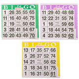 1on Triple Pack Bingo Cards, 1500 ct