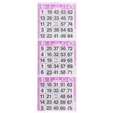 3on Purple Bingo Cards - 1000