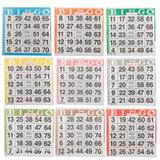 Bingo Paper Game Cards - 1 card - 9 sheets - 100 books per pack - SKU A1S9A