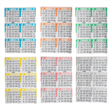 Bingo Books: 6on 6ups - 125 bo