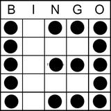 Bingo Game Pattern - Lucky 13