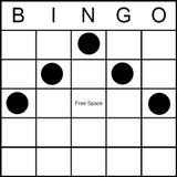Bingo Game Pattern - Chevron