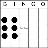 Bingo Game Pattern - Block of 6