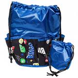 Space Ball Print Bingo Bag, Blue