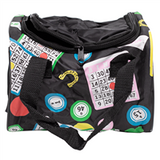Bingo Cube Bag w/4 pockets