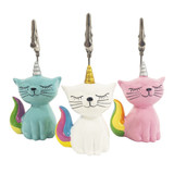 Unicorn Kitty Ticket Holder, set of 3