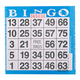 1on Blue Bingo Cards, 500ct