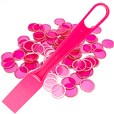 Pink Magnetic Wand with 100 Ch