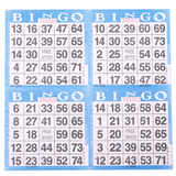 4on Blue Bingo Cards, 750 shee