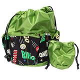 Bingo Bag - Space Print Design - Green - Bingo Accessories - SKU B008980