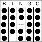 Bingo Game Pattern - Open House