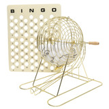 Bingo Cage, Balls and Masterbo