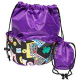Bingo Bag - Lucky Print Design - Purple - Bingo Accessories - SKU B008780
