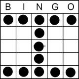 Bingo Game Pattern - Crazy H