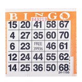 1on Orange Bingo Cards, 500 ct