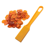 Orange Magnetic Wand & Chips, 100 ct