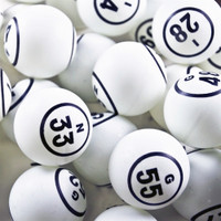 Bingo Balls - Double Number in