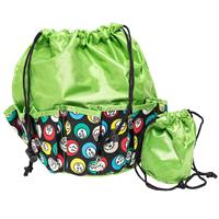 Bingo Bag - Bingo Ball Print Design - Green - Bingo Accessories - SKU B008560G