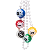 Bingo Ball Necklace